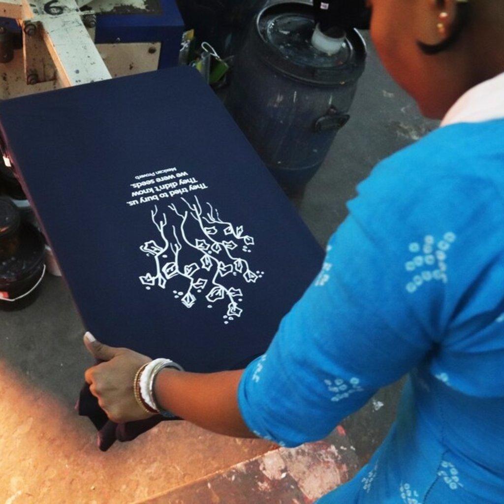 Fair Anita Planting Seeds Women's Tee