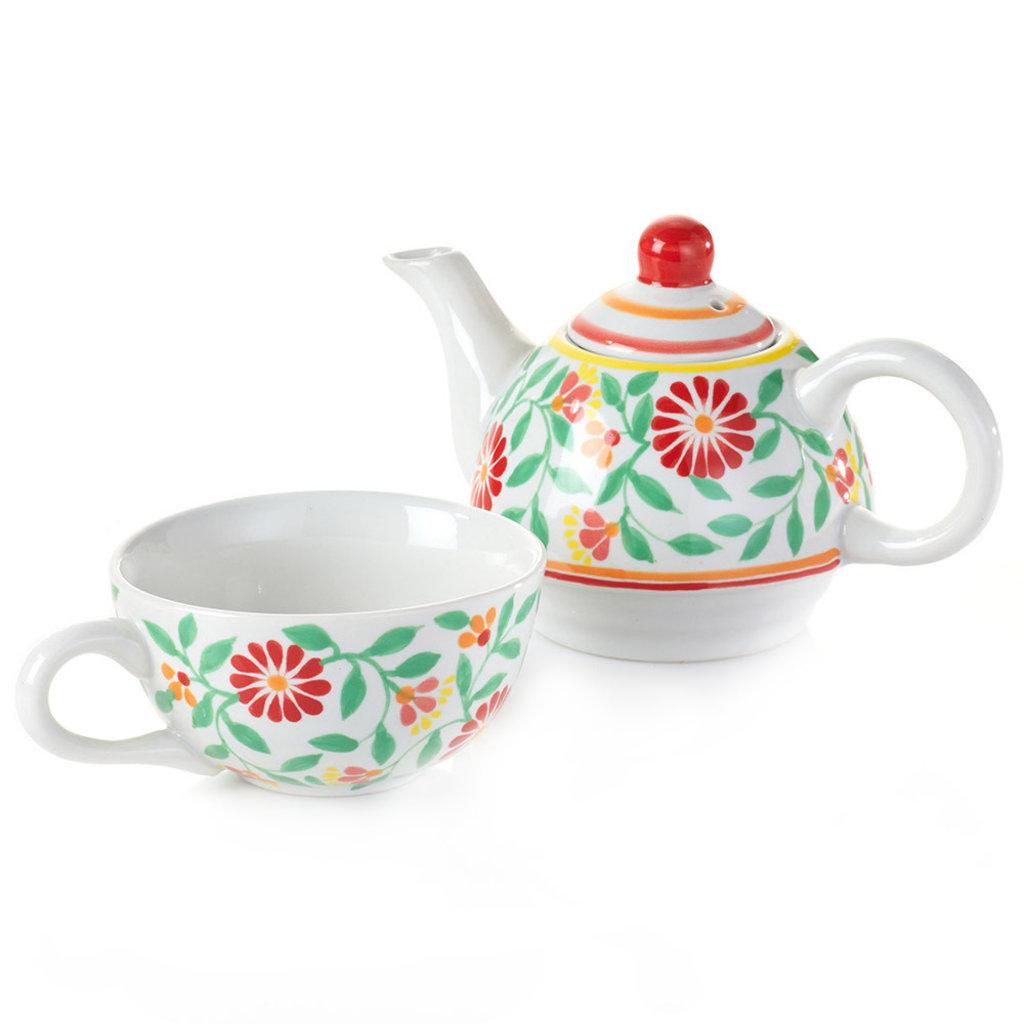 Serrv Sang Hoa Ceramic Tea For One