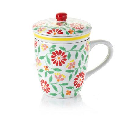 Serrv Sang Hoa Ceramic Tea Infuser Mug