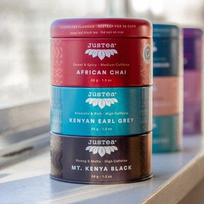 Just Tea African Loose Leaf Tea Sampler