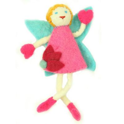 Global Crafts Felt Tooth Fairy Doll: Blonde Hair