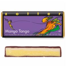 Zotter Chocolate Mango Tango Hand-Scooped Dark Chocolate