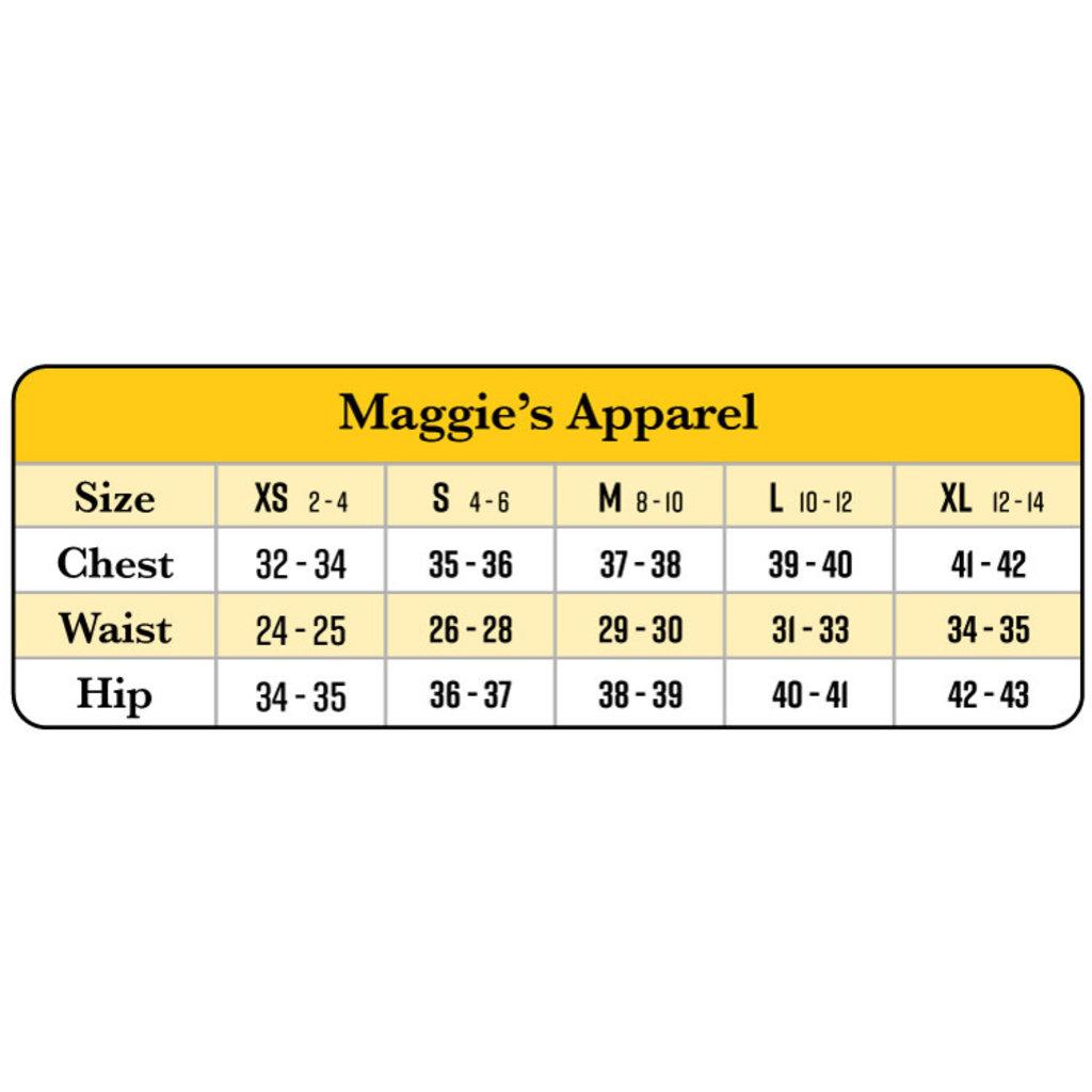 Maggie's Organics Cropped Black Palazzo Pant Organic Cotton