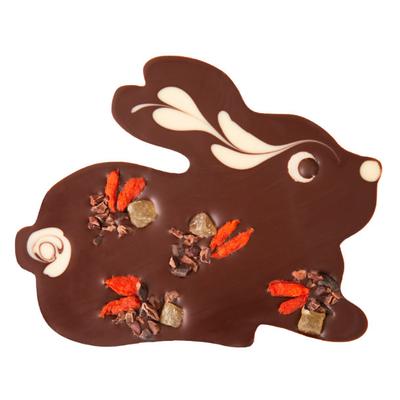 Zotter Chocolate Dark Chocolate Bunny