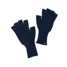 Minga Imports Gelid Alpaca Blend Fingerless Gloves Dark Blue