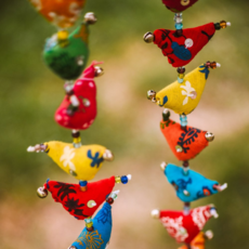 Mira Fair Trade Prosperity Tota Hanging - 15 Birds