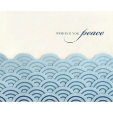 Good Paper Peaceful Waves Sympathy Card