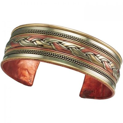 DZI Handmade Healing Ribbon Bracelet