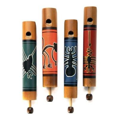Minga Imports Artisan Slide Whistle: Nazca