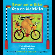 Barefoot Books Bear on a Bike: Bilingual Book