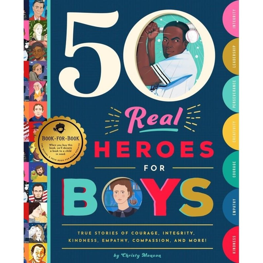 Microcosm Fifty Real Heroes for Boys