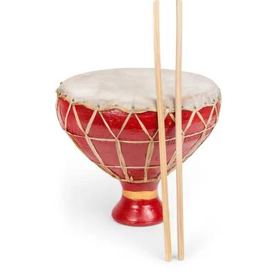 Ten Thousand Villages Happy Rhythm Red Drum