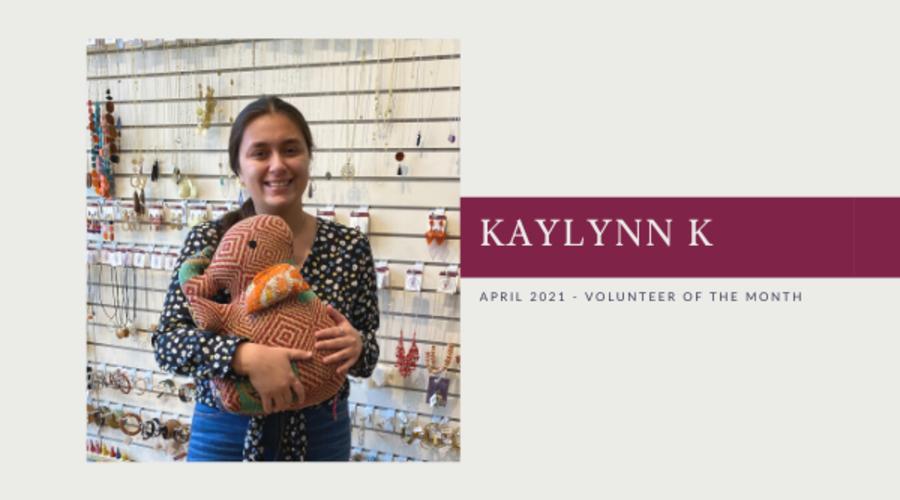 Meet Kaylynn K: Volunteer of the Month (Apr. 2021)