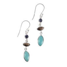 Ten Thousand Villages Good Things Sterling Earrings