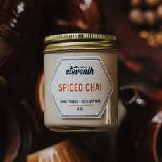 Eleventh Candle Co Spiced Chai Candle 8oz