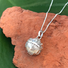 Women's Peace Collection Dream Ball Sterling Silver Necklace