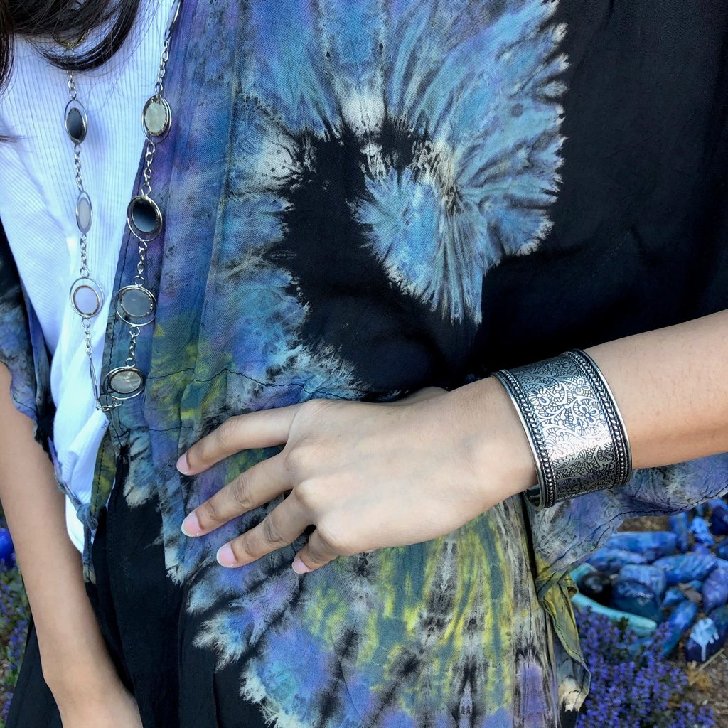Matr Boomie Bracelet Metal Impressions Cuff