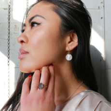 Fair Anita Burst Silver-plated  Earrings