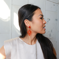 Fair Anita Rhombus Clementine Earrings
