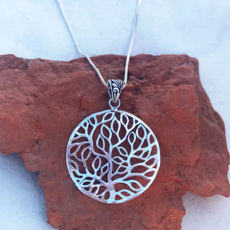Women's Peace Collection Pohon Sterling Silver Necklace