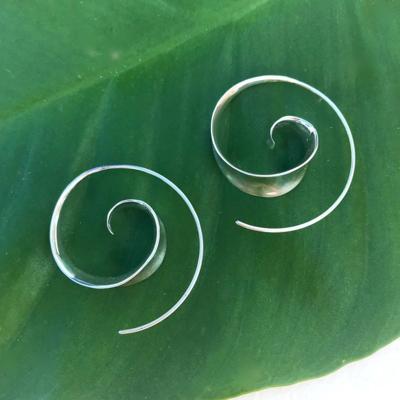 Women's Peace Collection Bulan Sterling Silver Earrings