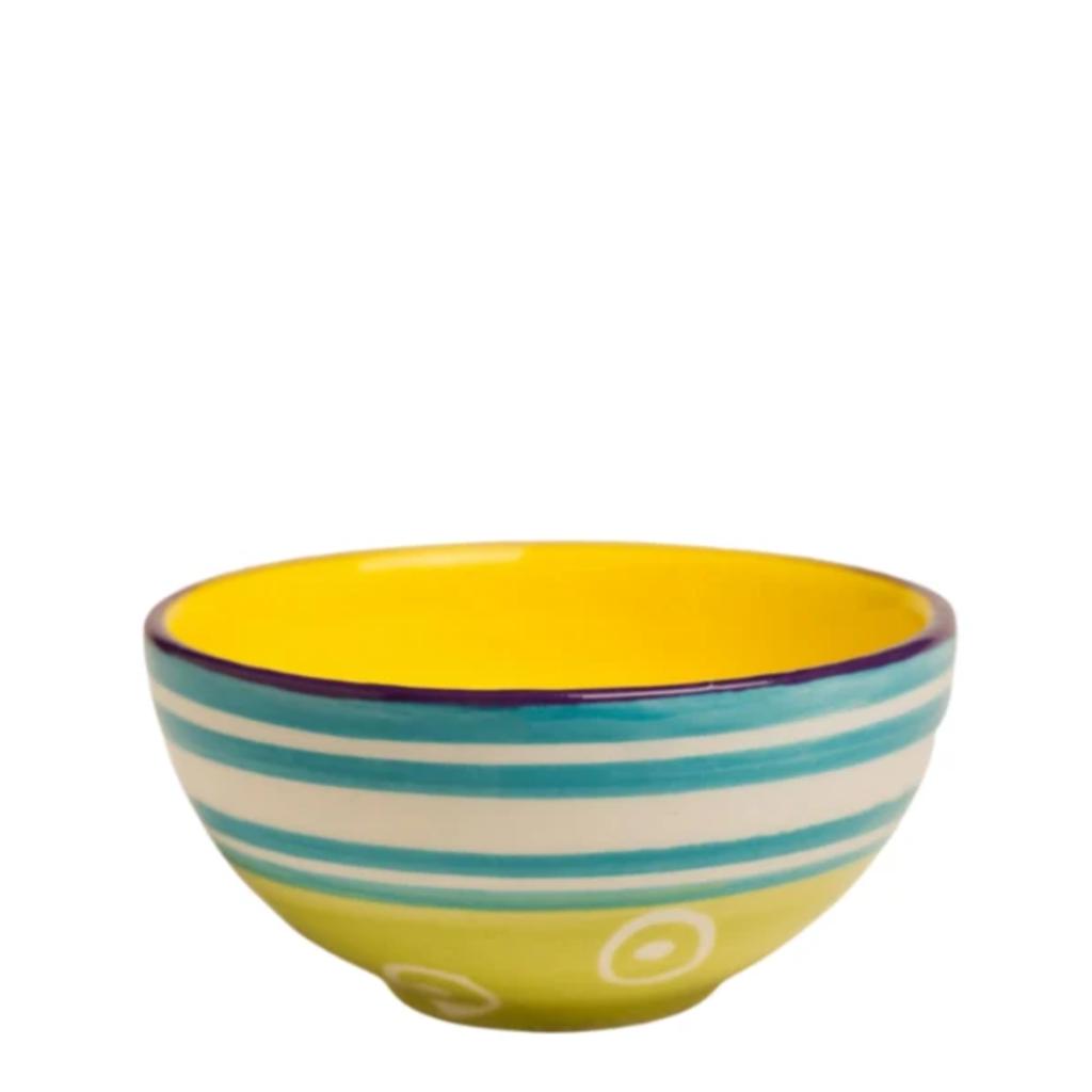 Thumbprint Artifacts Carousel Small Ceramic Bowl