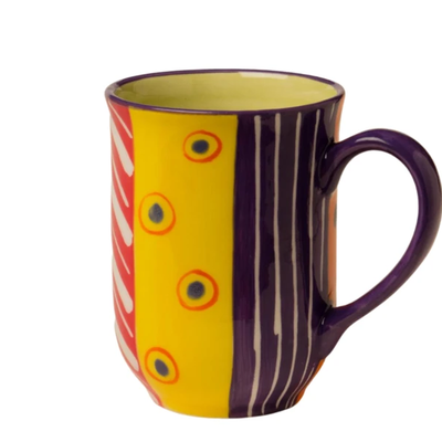 Thumbprint Artifacts Carousel Ceramic Mug