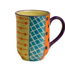 Thumbprint Artifacts Carousel Ceramic Mug