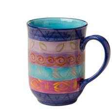 Thumbprint Artifacts Blue Moon Ceramic Mug