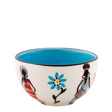 Thumbprint Artifacts African Ladies Small Ceramic Bowl