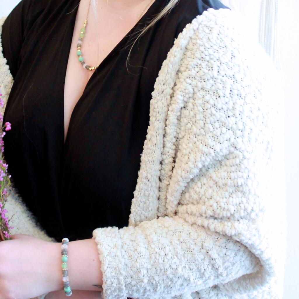 Fair Anita Playful Pastels Beaded Necklace