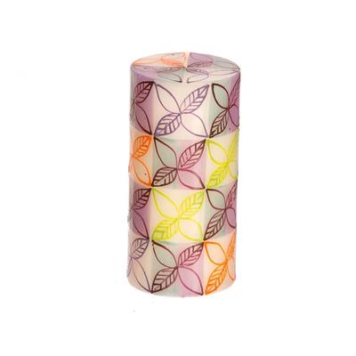 Thumbprint Artifacts Magic Garden Pillar Candle 3x6