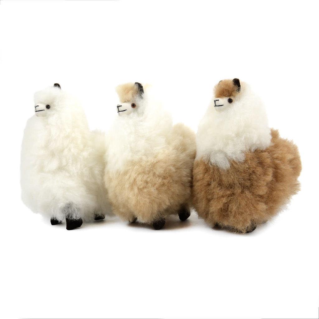 "Minga Imports Huacaya Alpaca 7"" Stuffed Animal"