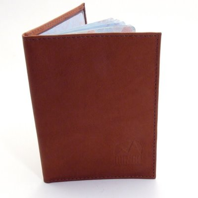 Minga Imports Leather Passport Holder