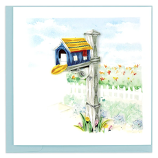 Quilling Card Happy Mailbox Quilled Card