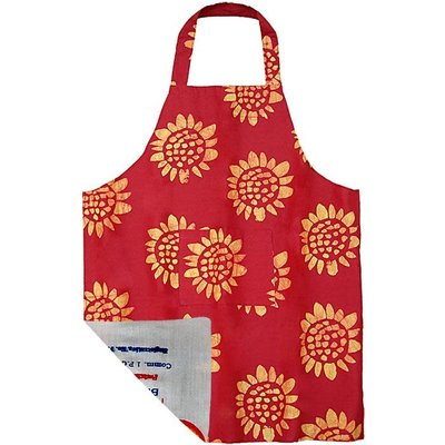 Global Mamas Reversible Apron: Sunflowers