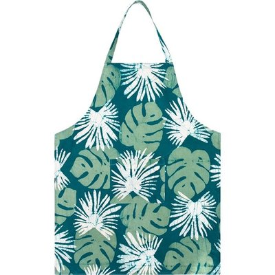 Global Mamas Reversible Apron: Evergreen Kakum