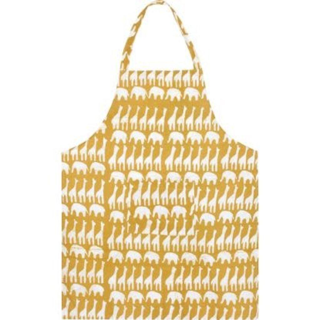 Global Mamas Reversible Apron: Mustard Sahara