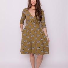 Mata Traders Callie Jersey Wrap Dress: