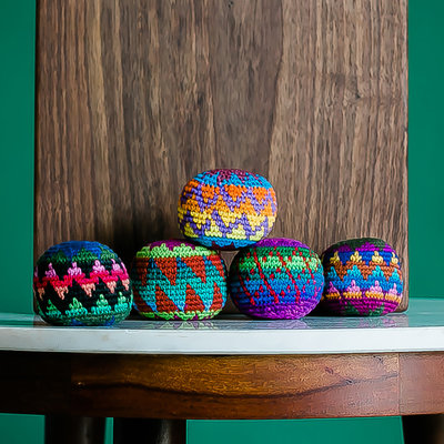 Lucia's Imports Woven Hacky Sack