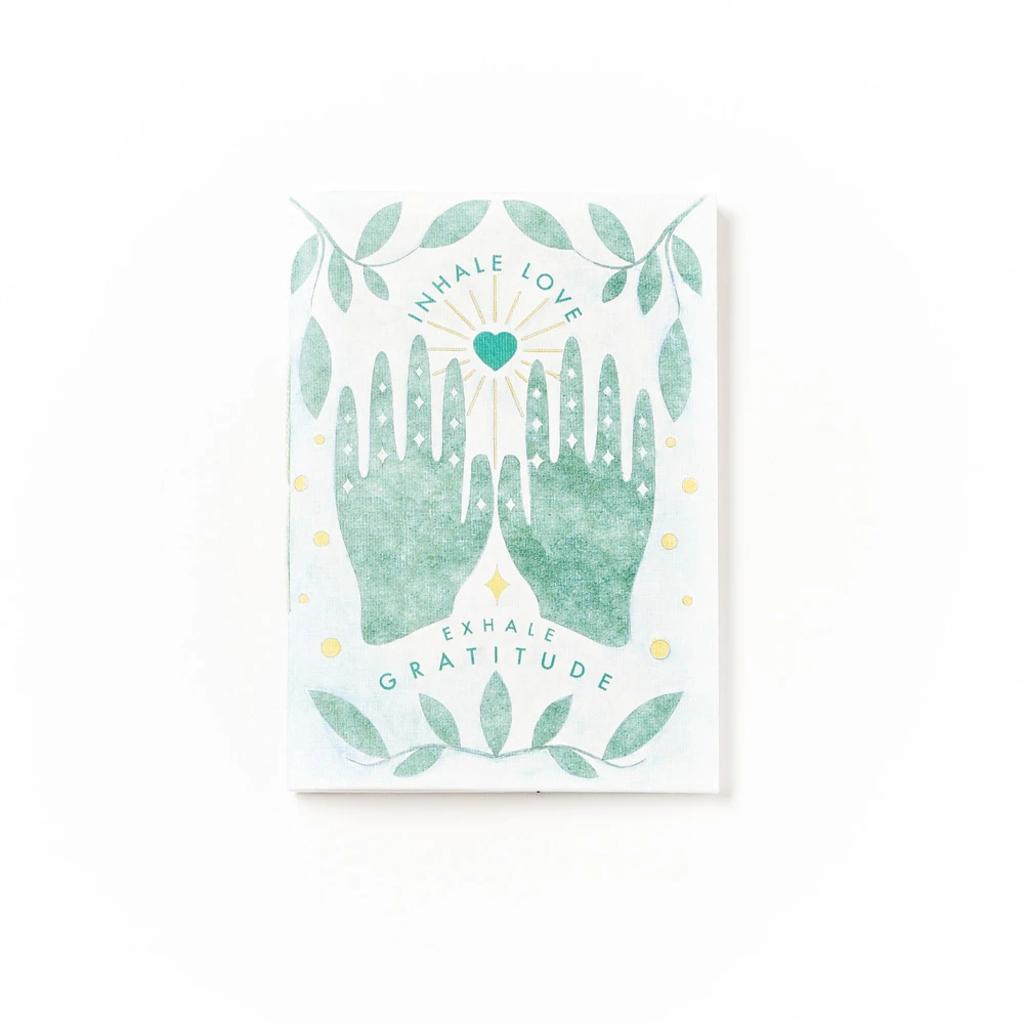 Matr Boomie Inhale Love Exhale Gratitude Journal