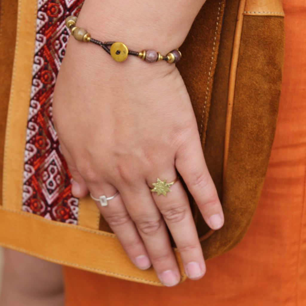 Mata Traders Austen Brass Star Ring