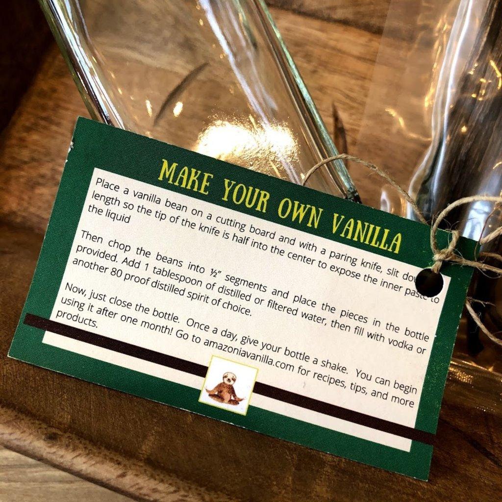 Amazonia Vanilla Organic Gourmet Vanilla Extract Kit