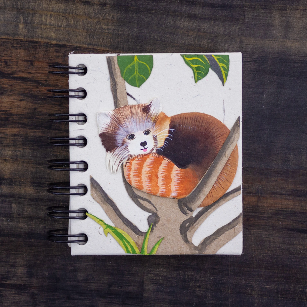 Mr Ellie Pooh Small Red Panda Journal