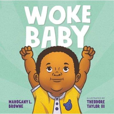 Microcosm Woke Baby Board Book
