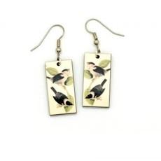 Dunitz & Co Chickadee Vintage Dangle Earrings