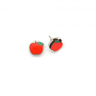 Dunitz & Co Apple Stud Earrings