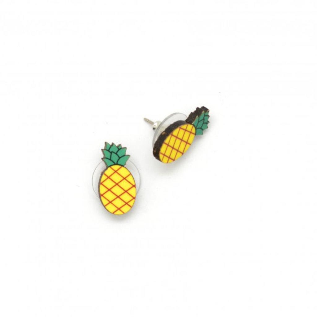Dunitz & Co Pineapple Stud Earrings
