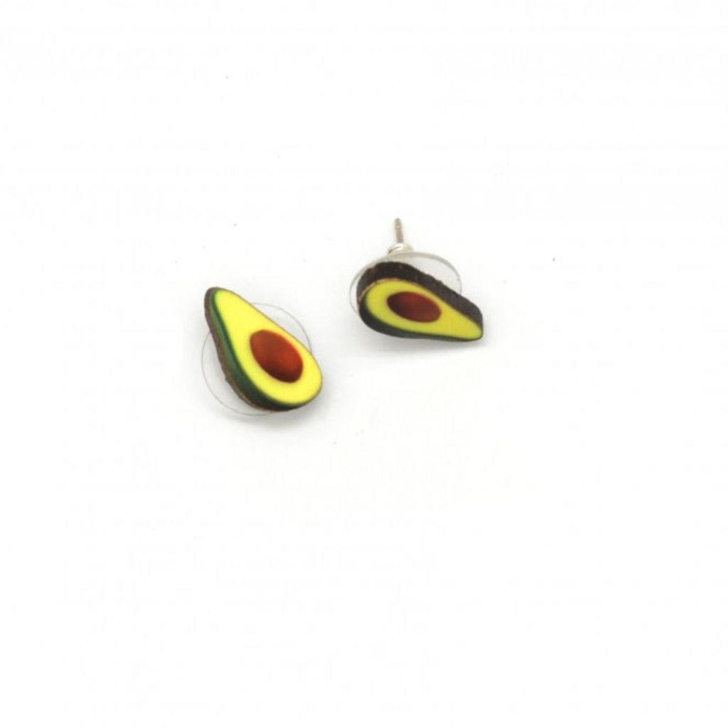 Dunitz & Co Avocado Stud Earrings
