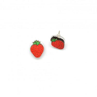 Dunitz & Co Strawberry Stud Earrings